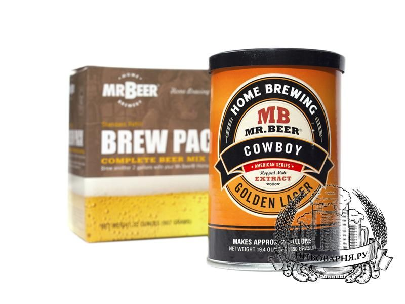 Солод Mr.Beer Cowboy Golden Lager